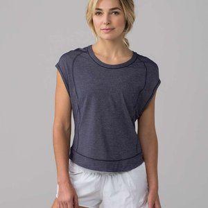 Lululemon Pace Perfect Short Sleeve Midnight Navy